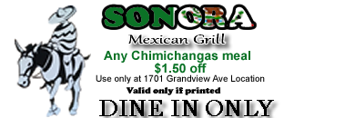 any chimichangas meal